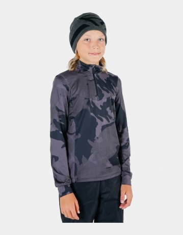 Brunotti Avocet Boy Fleece - Black - Product Photo 1