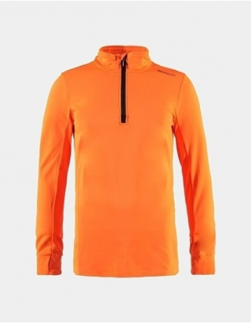 Brunotti Ternias Jr Boys Fleece - Fluo Orange - Product Photo 1