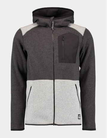 O'neill Piste Hoody Fleece - Dark Grey Melee - Product Photo 1