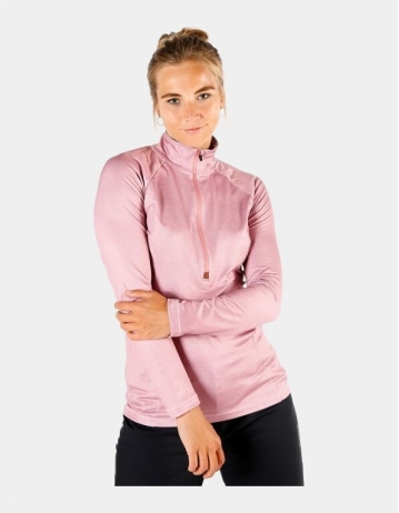 Brunotti Yrenna Melagne Fleece Women - Old Rose - Product Photo 1