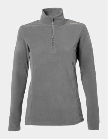 Brunotti Mismy Jr Girls Fleece - Mid Grey Melee - Product Photo 1