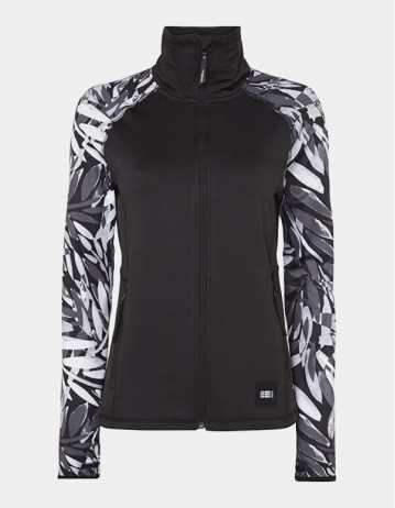 O'neill Printed Fleece Woman - Blackout - Product Photo 1