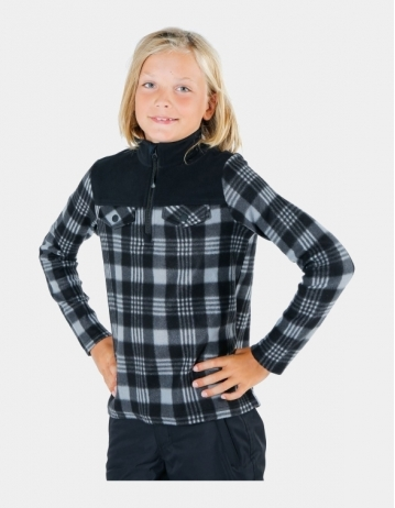 Brunotti Slaters Boy Fleece Black - Product Photo 1