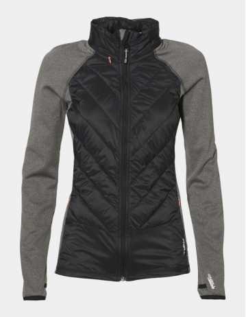 Oneill Hooded Baffle Fleece Woman – Blackout - Product Photo 1
