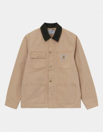 Carhartt Wip Michigan Coat Dusty H Brown / Tobacco Rinsed. - Product Photo 1