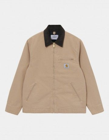 Carhartt Wip Detroit Jacket Dusty H Brown Rinsed. - Product Photo 1