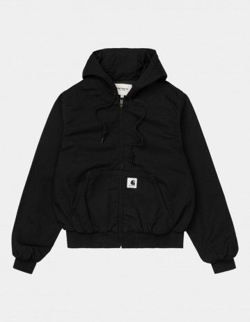 Carhartt Wip W Active Jacket Black Rinsed. - Product Photo 1