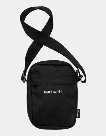 Carhartt Wip Payton Shoulder Pouch Black / White. - Product Photo 1