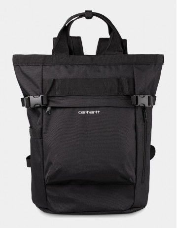 Carhartt Wip Payton Carrier Backpack Black / White. - Product Photo 1