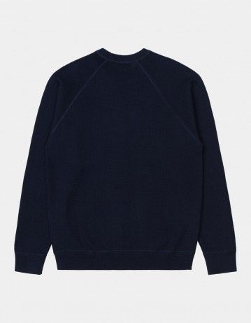 Carhartt Chase Sweater Dark Navy / Gold - Product Photo 2