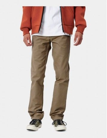 Carhartt Sid Pant Leather Rinsed - Product Photo 1