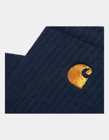 Carhartt Chase Socks Dark Navy/Gold - Product Photo 2