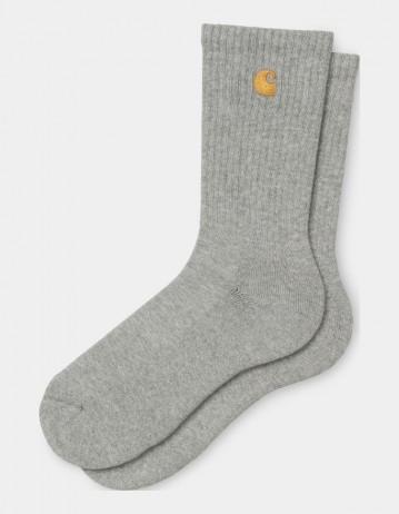 Carhartt Chase Socks Grey Heather / Gold - Product Photo 1