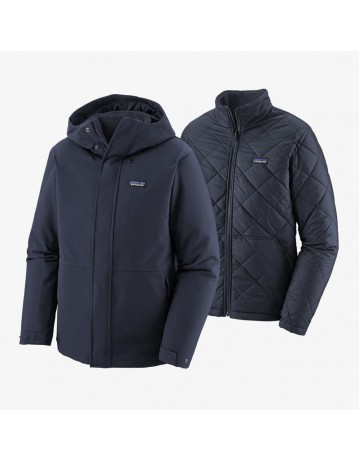 Patagonia Lone Mountain 3 In 1 Jacket Navy - Product Photo 2