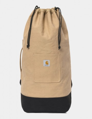 Carhartt Wip Canvas Duffle Dusty H Brown / Black. - Product Photo 1