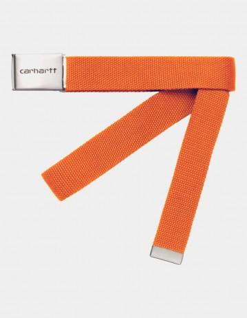 Carhartt Wip Clip Belt Chrome Hokkaido. - Product Photo 1