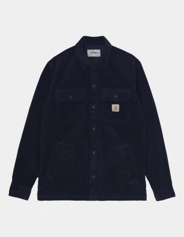 Carhartt Wip Dixon Shirt Jac Dark Navy Rinsed. - Product Photo 1