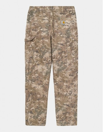 Carhartt Wip Double Knee Pant Camo Combi, Desert Worn Canvas. - Product Photo 1