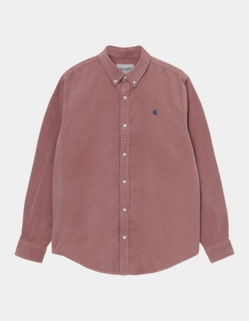 Carhartt Wip L/S Madison Cord Shirt Malaga / Corse. - Product Photo 1