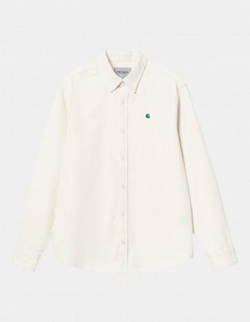 Carhartt Wip L/S Madison Cord Shirt Wax / Kingston. - Product Photo 1
