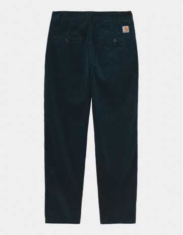 Carhartt Wip Menson Pant Deep Lagoon Rinsed. - Product Photo 1