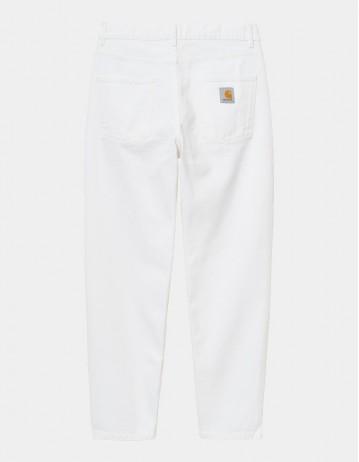 Carhartt Wip Newel Pant White Worn Washed. - Product Photo 1