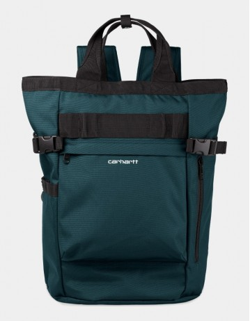 Carhartt Wip Payton Carrier Backpack Deep Lagoon / White. - Product Photo 1