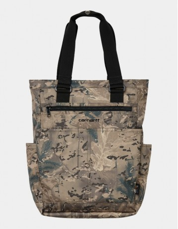 Carhartt Wip Payton Kit Bag Camo Combi, Desert / Black. - Product Photo 1