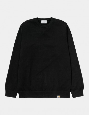 Carhartt Wip Playoff Sweater Black. - Product Photo 1