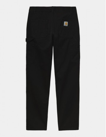 Carhartt Wip Ruck Double Knee Pant Black Stone Washed. - Product Photo 1