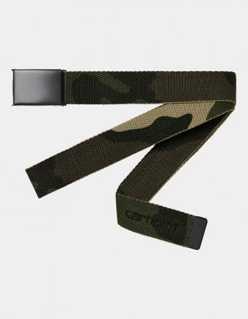 Carhartt Wip Script Belt Tonal Camo Laurel. - Product Photo 1