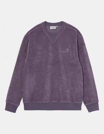 Carhartt Wip United Script Sweatshirt Provence. - Product Photo 1