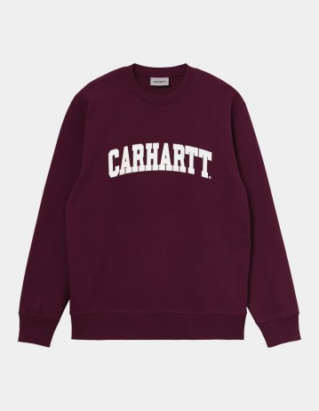 Carhartt Wip University Sweatshirt Shiraz / White. - Product Photo 1