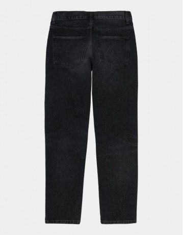 Carhartt Wip Vicious Pant Black Mid Worn Wash. - Product Photo 1