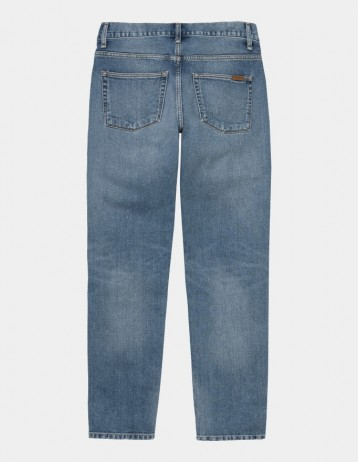 Carhartt Wip Vicious Pant Blue Worn Bleached. - Product Photo 1