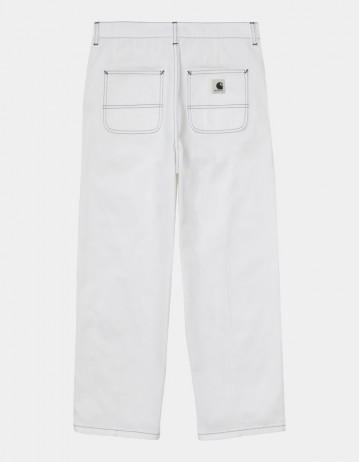 Carhartt Wip W Armanda Pant White Rinsed. - Product Photo 1