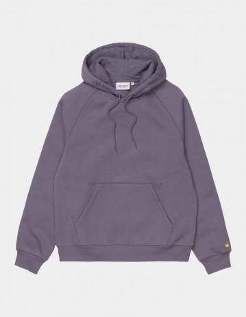 Carhartt Wip W Hooded Chase Sweatshirt Provence / Gold. - Product Photo 1