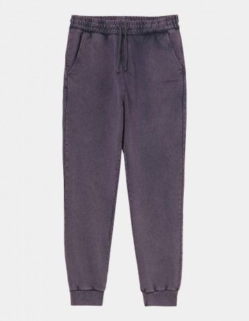 Carhartt Wip W Mosby Script Sweat Pant Provence. - Product Photo 1