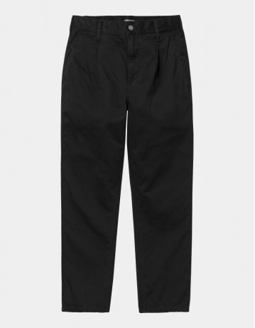 Carhartt Wip Abbott Pant Black Stone Washed. - Product Photo 2