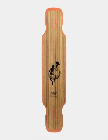 Moonshine Hoedown Black/Red Medium Longboard Deckmoonshine Custom For Hoedown Griptape. - Product Photo 2