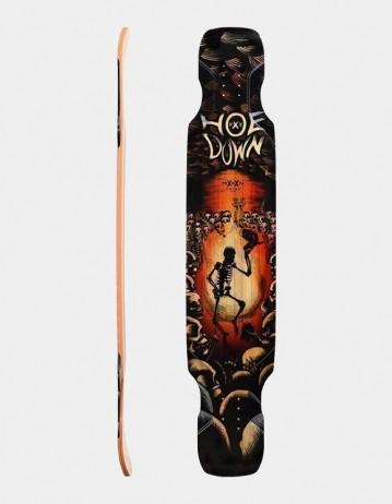 Moonshine Hoedown Black/Red Medium Longboard Deckmoonshine Custom For Hoedown Griptape. - Product Photo 1