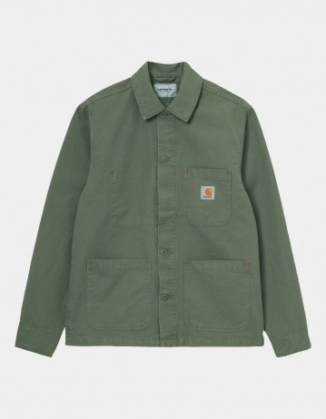 Carhartt Wip Wesley Jacket Dollar Green Garment Dyed. - Product Photo 1