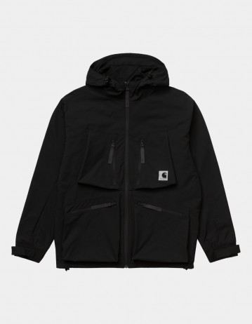 Carhartt Wip Hurst Jacket Black. - Product Photo 1