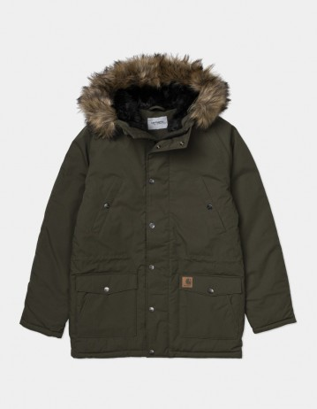 Carhartt Wip Trapper Parka Cypress / Black. - Product Photo 1