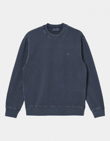 Carhartt Wip Sedona Sweatshirt Dark Navy. - Product Photo 1