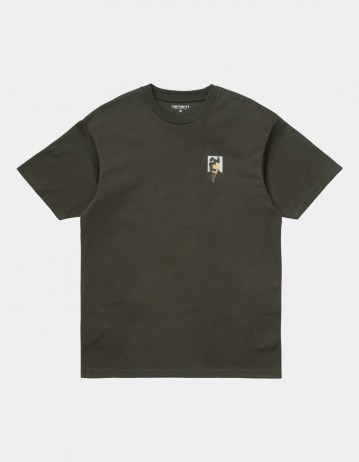 Carhartt Wip S/S Teef T-Shirt Cypress. - Product Photo 1