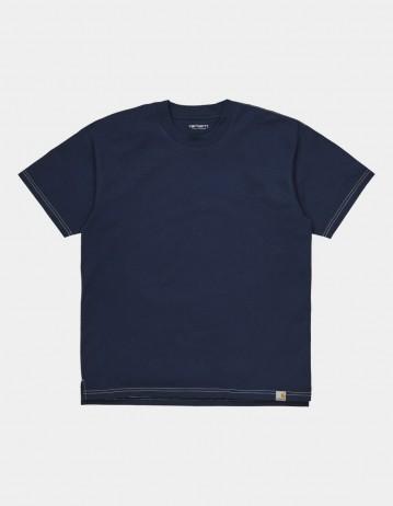 Carhartt Wip S/S Nebraska T-Shirt Space / Wax. - Product Photo 1