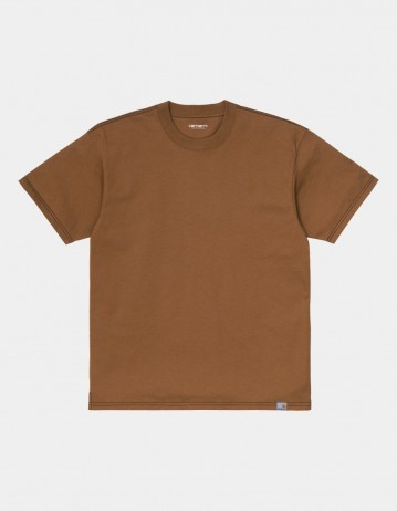 Carhartt Wip S/S Nebraska T-Shirt Hamilton Brown / Black. - Product Photo 1