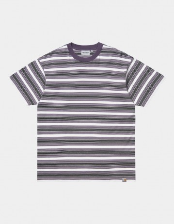 Carhartt Wip S/S Otis T-Shirt Otis Stripe, Provence. - Product Photo 1
