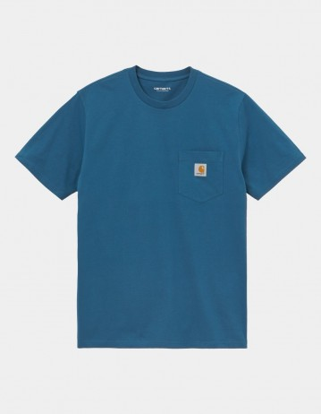 Carhartt Wip S/S Pocket T-Shirt Shore. - Product Photo 1